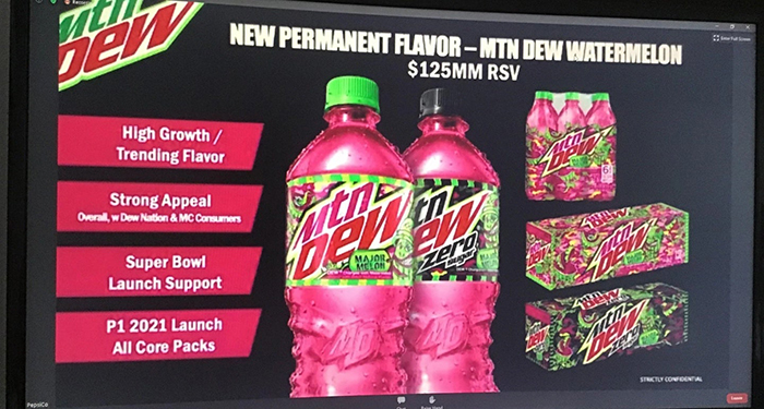 mountain dew watermelon flavor major melon