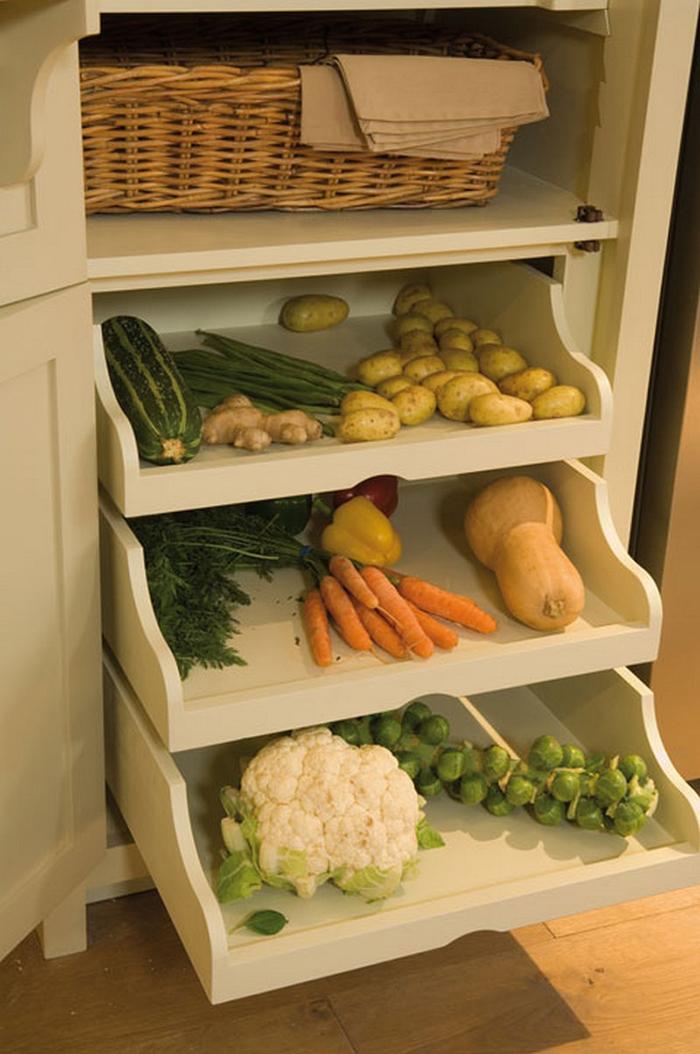 neptune grand larder unit vegetable trays