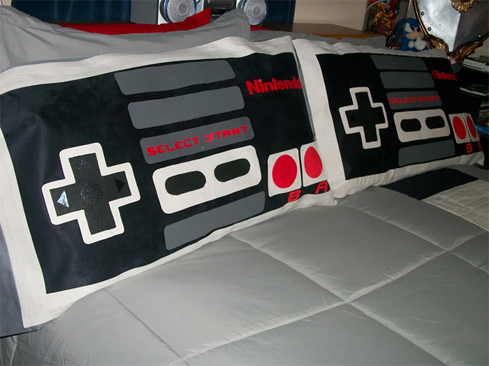 nes game controllers pillowcases
