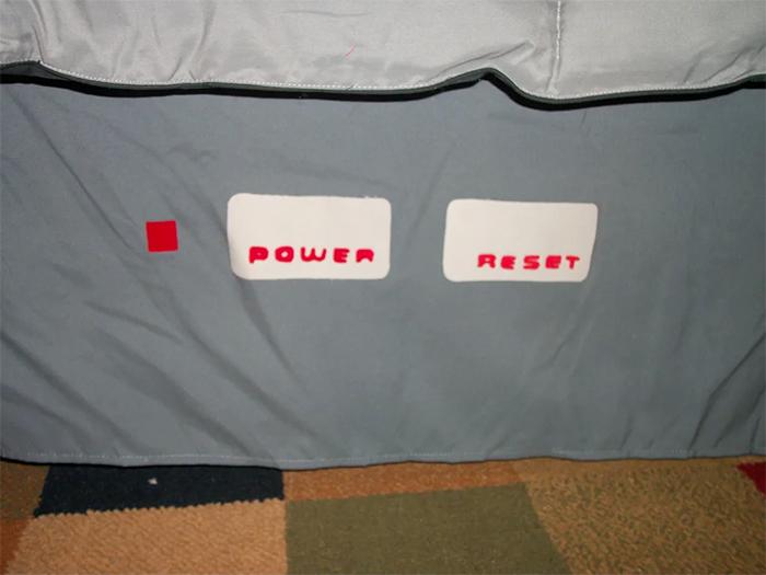nintendo bedding set fitted sheet