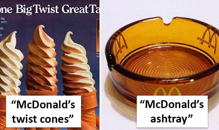 old McDonald's Restaurants
