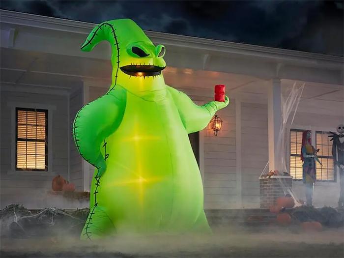oogie boogie inflatable halloween decor