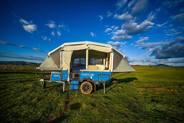 opus camper blue