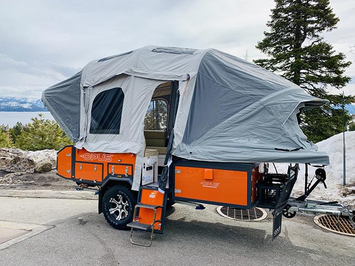 opus camper orange