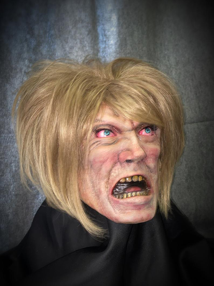 scary lady halloween mask costume