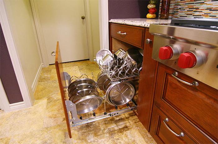 sliding kitchen drawer