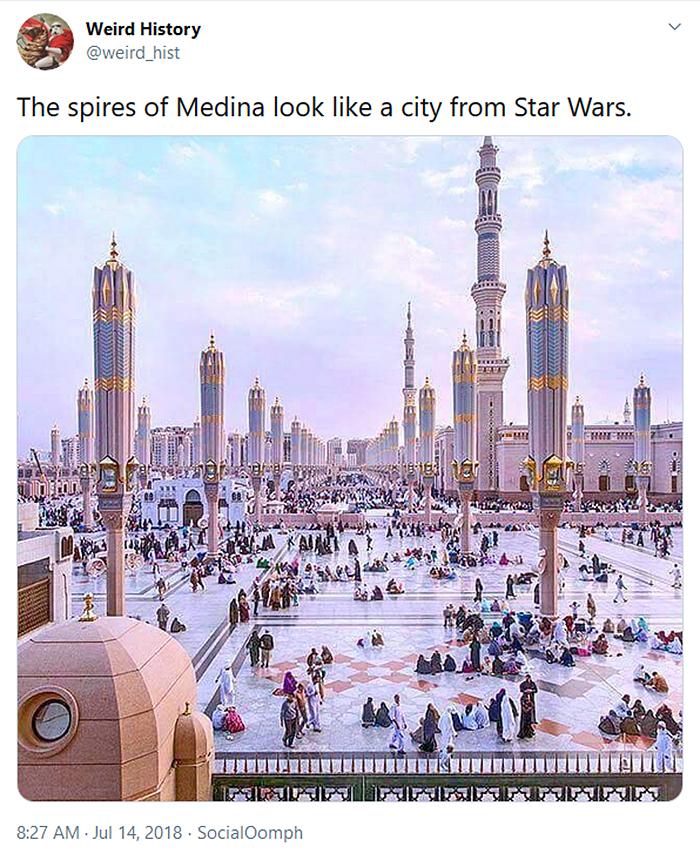 spires of medina star wars
