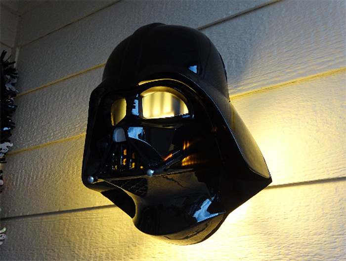 star wars porch light covers darth vader