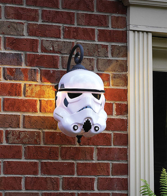 star wars porch light covers stormtrooper