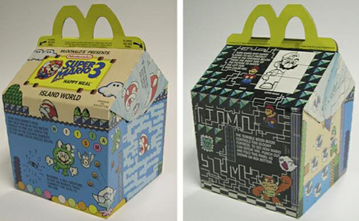 super mario bros 3 mcdonald's happy meal
