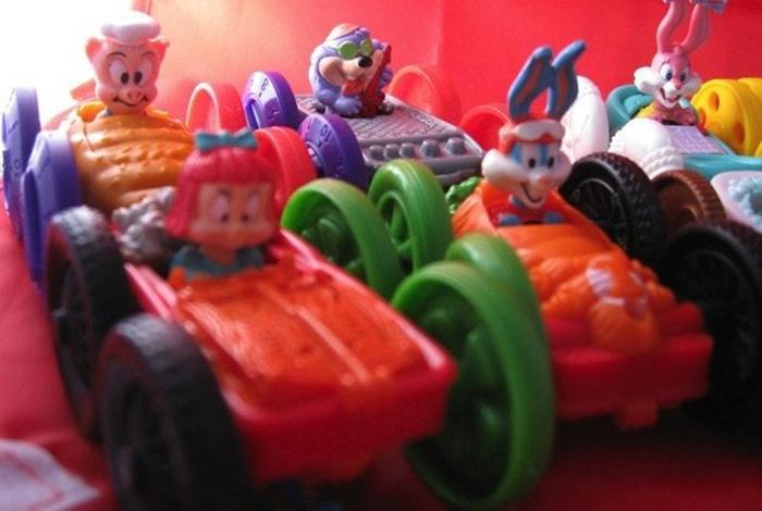 tiny toons flip cars toys