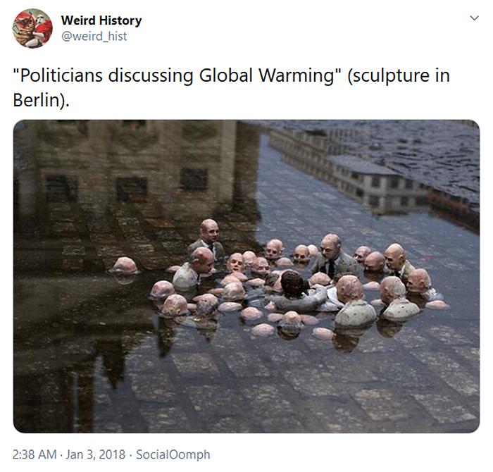 weird history berlin sculpture politician meeting