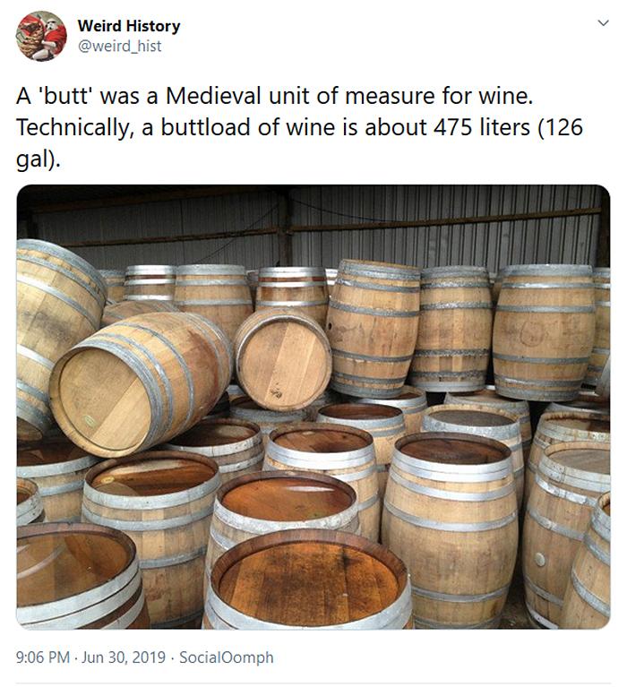 weird history butt medieval unit