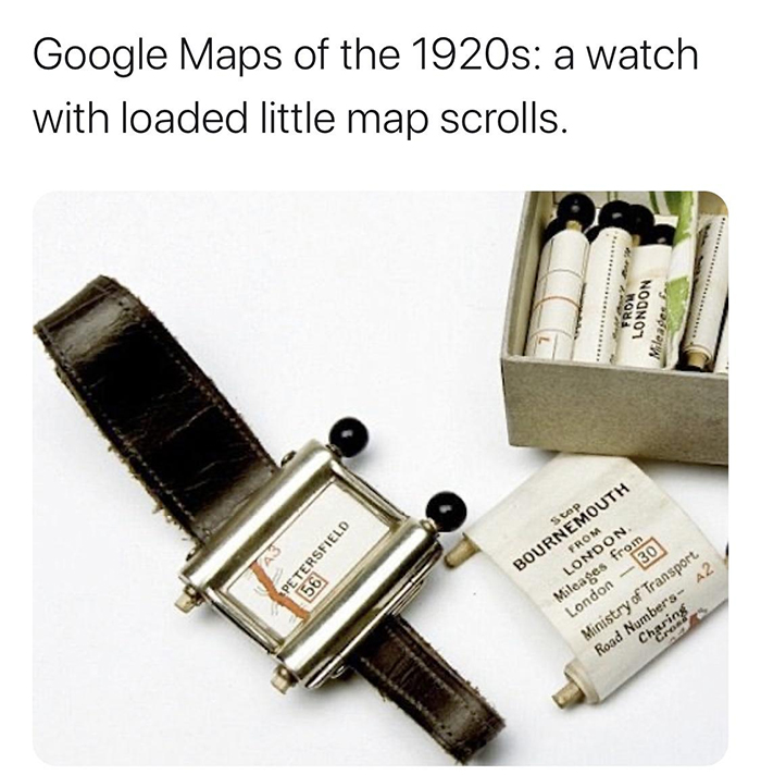 weird history early google maps