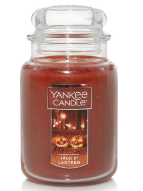yankee candle jack o lantern original large jar