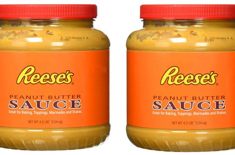 4.5-pound tub of Reese's Peanut Butter sauce