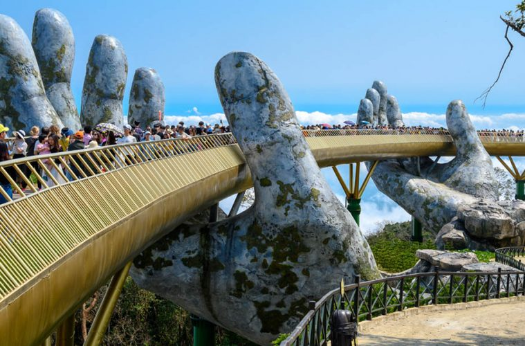 Bà Nà Hills Bridge in Vietnam