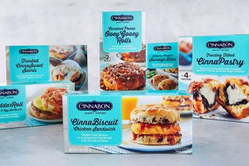 Cinnabon breakfast