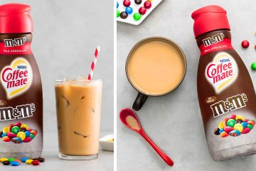 Coffee Mate M&M's Flavored creamer