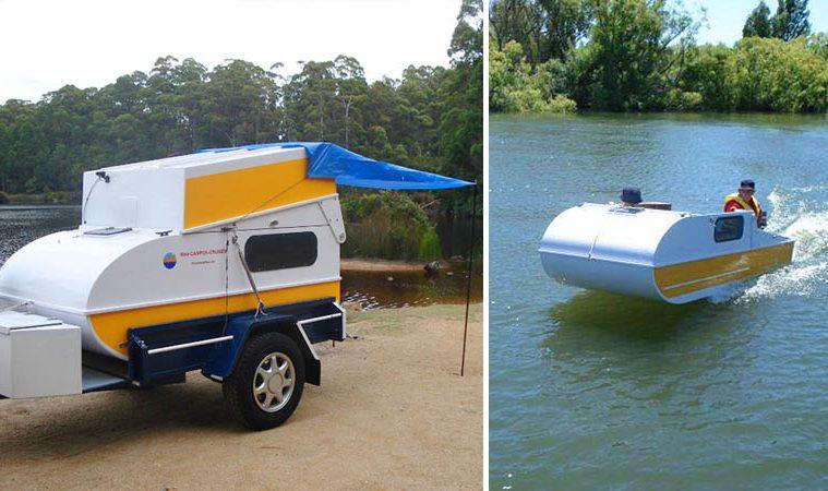 DIY Micro-Camper cruiser