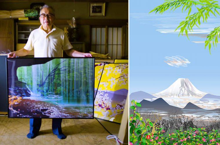 Excel Spreadsheet paintings