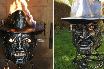Freddy Krueger Fire pit