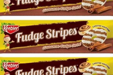 Fudge Stripes Cinnamon Fudge Swirl