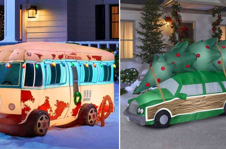 Inflatable Christmas vacation RV