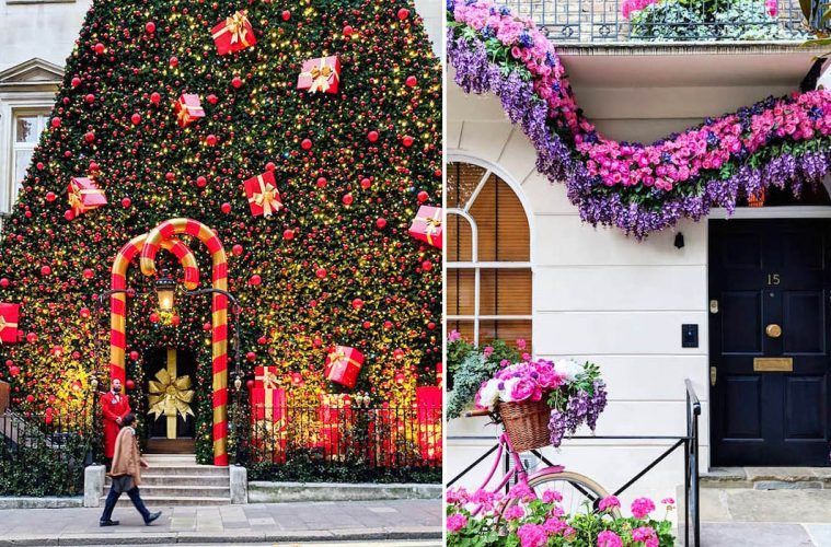 London's Colorful Front doors