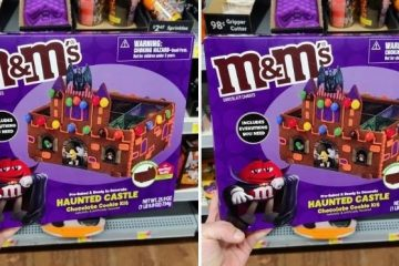 M&M's Haunted Castle Chocolate Cookie Kit