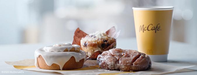 McDonald's McCafé Bakery Lineup