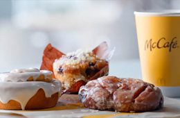 McDonalds cinnamon roll