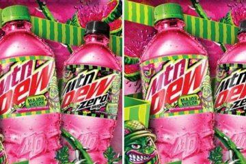 Mountain Dew Watermelon Flavor