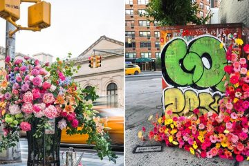 NYC flower arrangements
