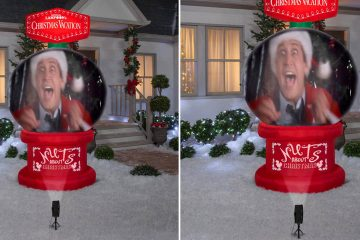 National Lampoon's Christmas Vacation Snow globe