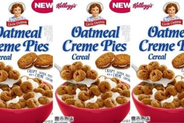 Oatmeal Creme Pies Cereal