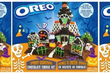 Oreo Spooky Graveyard Chocolate Cookie Kit