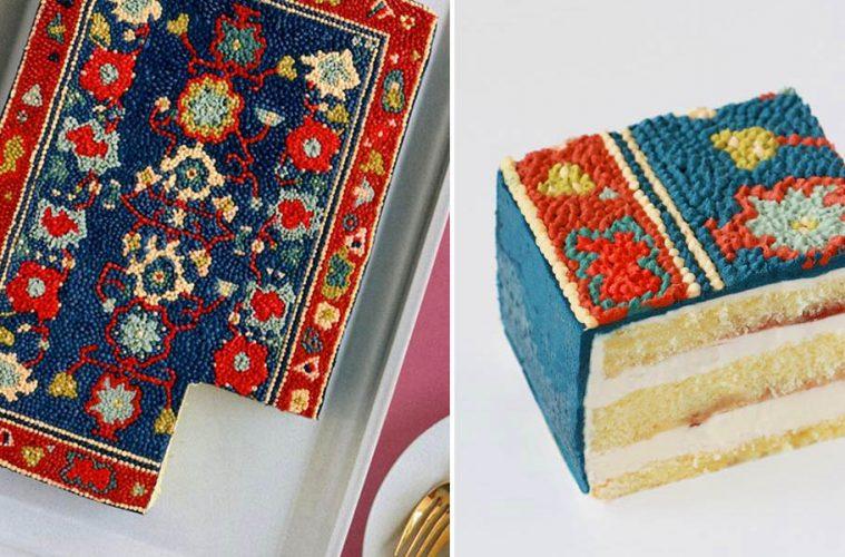 Persian Rug Cake