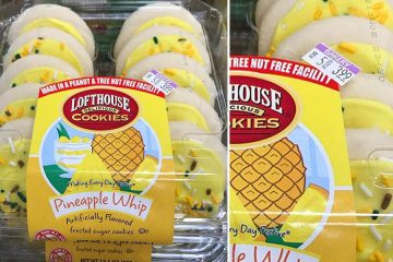 Pineapple Whip Sugar Cookies