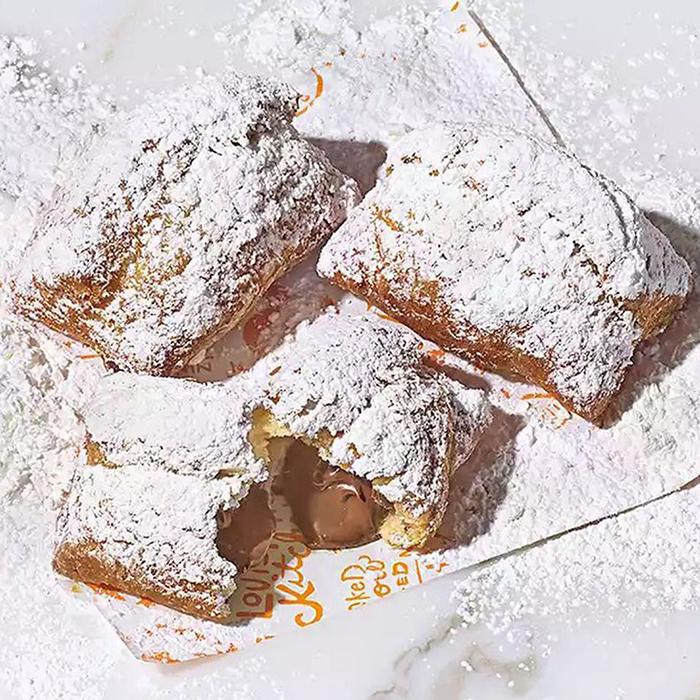 Popeyes Lousiana Kitchen Chocolate Stuffed Beignets