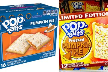 Pumpkin Pie Pop-Tarts Flavor