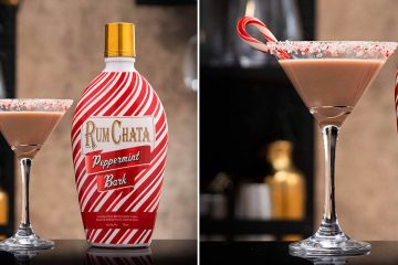RumChata Peppermint Bark Liqueur