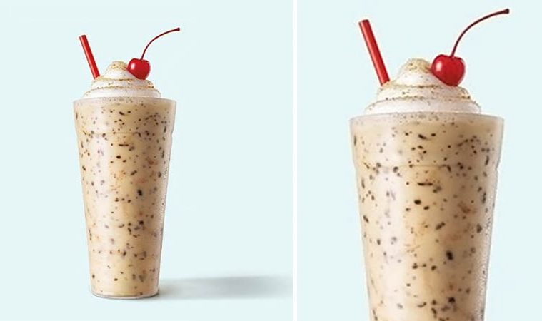 Toasted S'mores shake