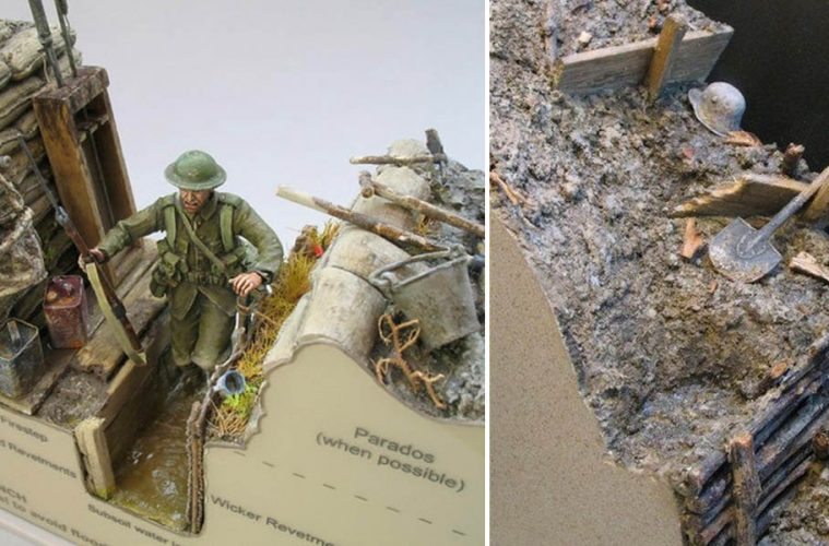 WWI trench warfare models