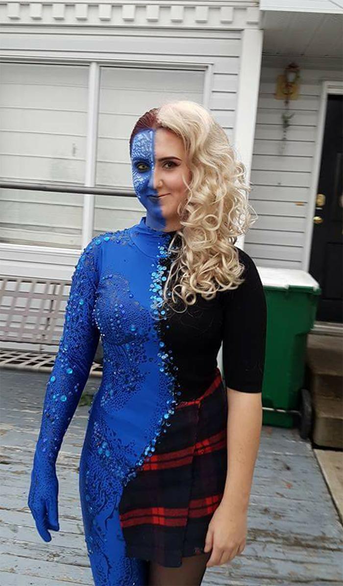 amazing cosplay transforming mystique