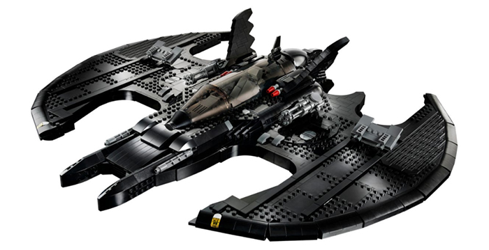 batman air combat vehicle buildable model