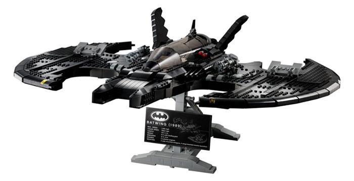 batman aircraft buildable model