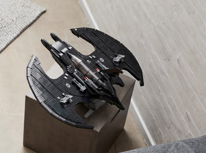 batman aircraft buildable scaled model