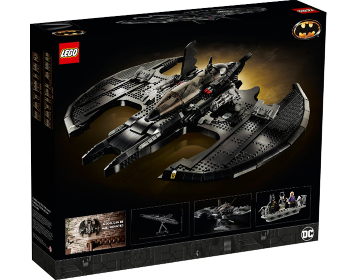 batman aircraft model construction kit