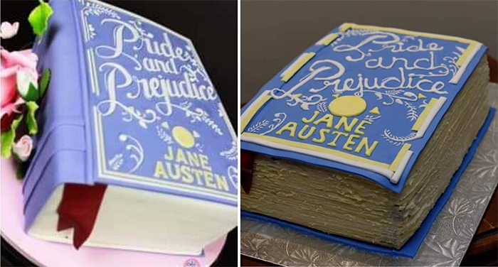 classic book cake better than expected